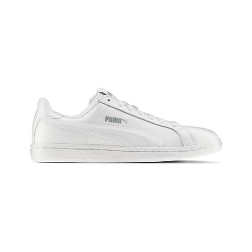 Sneakers da donna di pelle puma, bianco, 504-1110 - 26