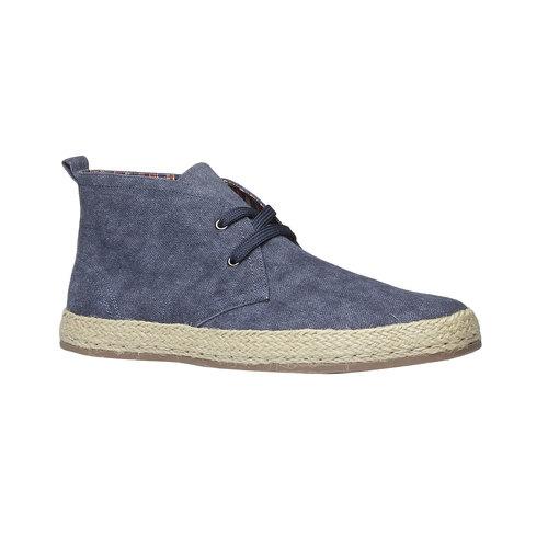 Scarpe da uomo in stile Desert Boots bata, blu, 899-9669 - 13
