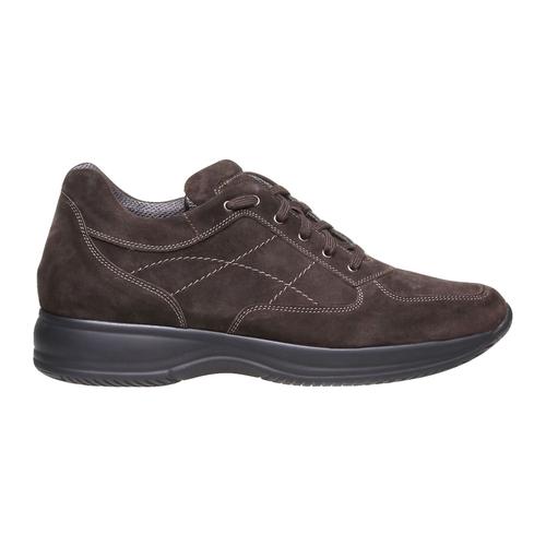 Sneakers di pelle bata, marrone, 843-4315 - 26