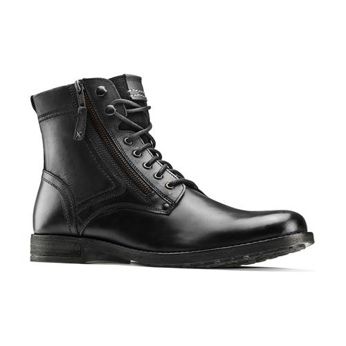 Stivaletti uomo con lacci bata, nero, 894-6449 - 13