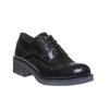 Scarpe basse da donna con tacco basso bata, nero, 521-6325 - 13