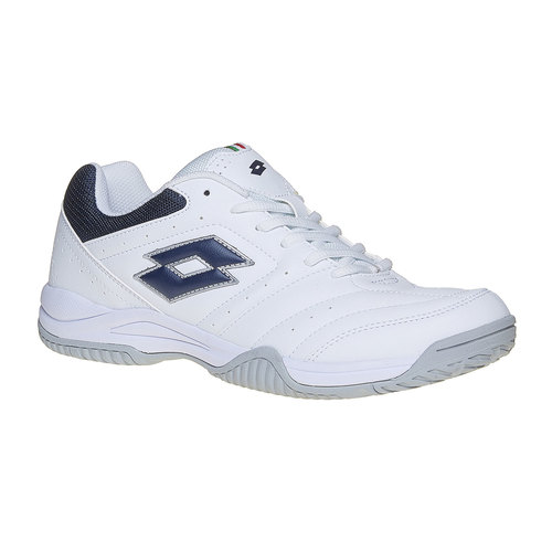 Sneakers sportive bianche lotto, bianco, 801-1148 - 13