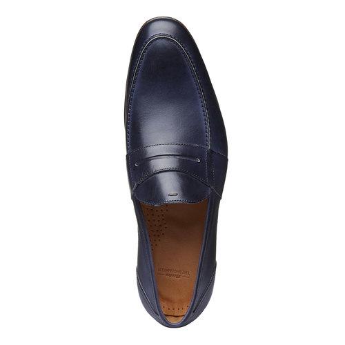 Penny Loafer di pelle bata-the-shoemaker, viola, 814-9146 - 19