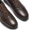 Scarpa in pelle da uomo bata, marrone, 844-4325 - 19