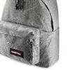 Zaino in tessuto di colore grigio eastpack, grigio, 999-6647 - 15