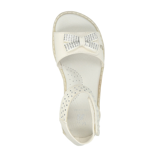 Sandali per bambina mini-b, bianco, 261-1160 - 19