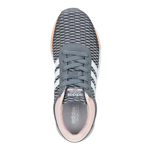 Sneakers sportive da donna adidas, grigio, 509-2822 - 19