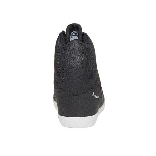 Sneakers nere da donna con zeppa le-coq-sportif, nero, 503-6349 - 17