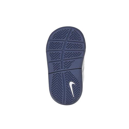 Sneakers da bambino con chiusura a velcro nike, bianco, 104-9538 - 26