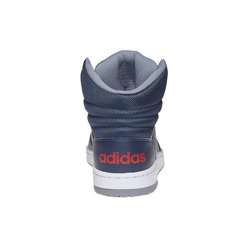 Sneakers da uomo alla caviglia adidas, blu, 801-9240 - 17