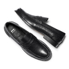 Penny loafer in pelle bata, nero, 814-6128 - 19