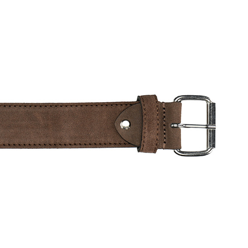 Cintura in pelle scamosciata bata, marrone, 953-3106 - 26