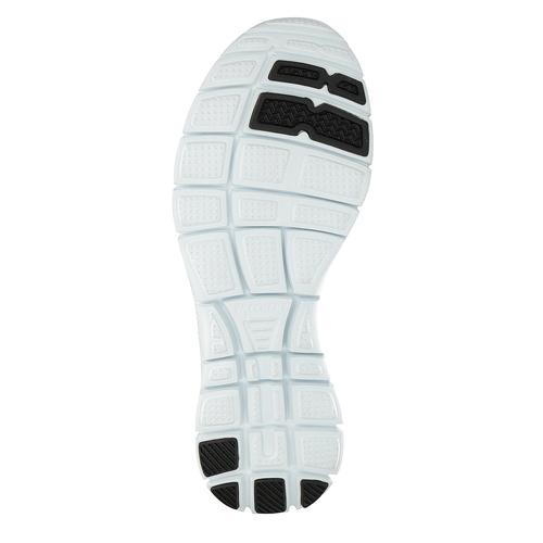 Sneakers nere sportive da donna skechers, nero, 509-6352 - 26