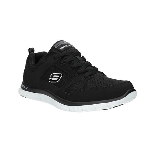 Sneakers nere sportive da donna skechers, nero, 509-6352 - 13