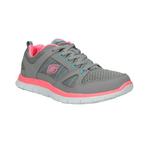 Sneakers sportive da donna skechers, grigio, 509-2352 - 13