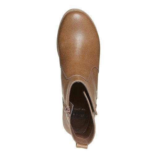 Scarpe alla caviglia da donna bata, marrone, 691-2245 - 19