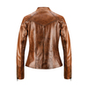 Biker da donna in pelle bata, marrone, 974-3162 - 26