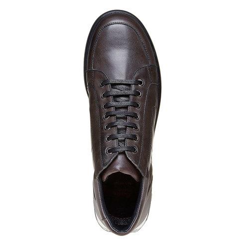 Sneakers da uomo con suola strutturata. flexible, grigio, 844-2205 - 19