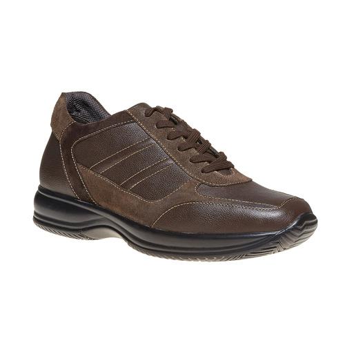 Sneakers informali da uomo bata, marrone, 844-4214 - 13