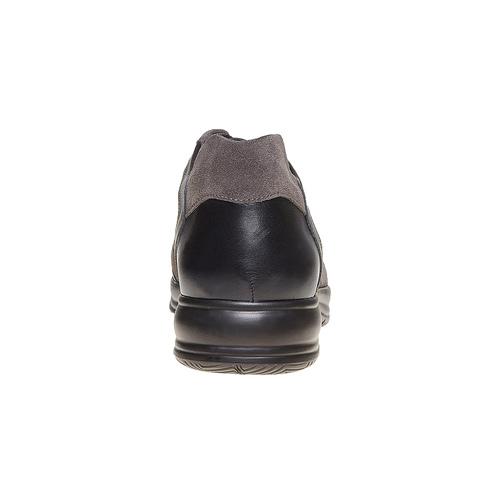 Sneakers da uomo in pelle bata, blu, 844-9214 - 17