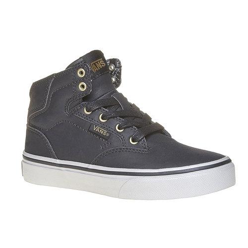 Sneakers da bambino alla caviglia vans, grigio, 401-6310 - 13
