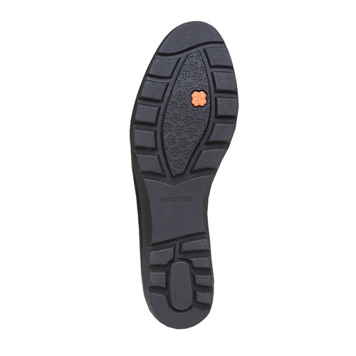 Scarpe da donna in pelle con fibbie sundrops, nero, 524-6357 - 26
