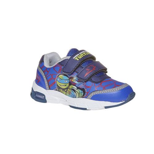 Sneakers da bambino con suola massiccia, blu, 211-9165 - 13