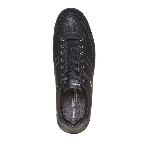 Sneakers eleganti da uomo levis, nero, 841-6210 - 19