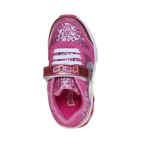 Sneakers da ragazza con glitter, rosso, 229-5171 - 19