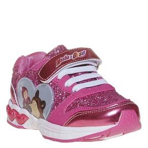 Sneakers da ragazza con glitter, rosso, 229-5171 - 13
