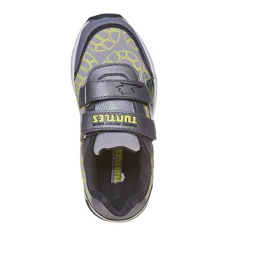 Sneakers da bambina con stampa, grigio, 311-2229 - 19
