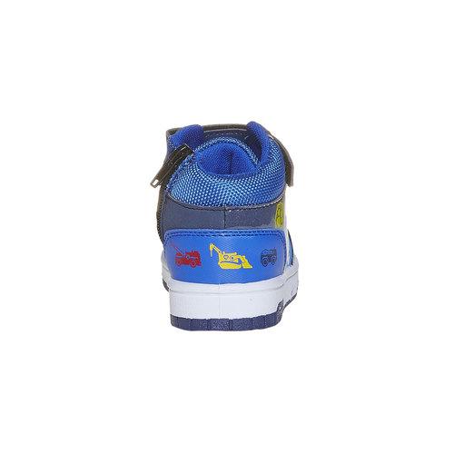 Sneakers da bambino alla caviglia, blu, 211-9164 - 17