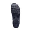Pantofole di pelle bata-comfit, blu, 874-9803 - 17