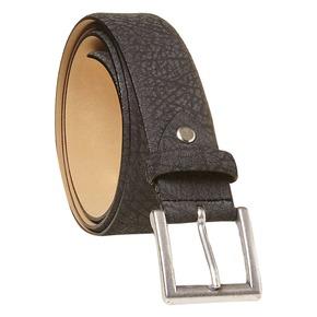 Cintura da uomo in pelle bata, nero, 954-6216 - 13