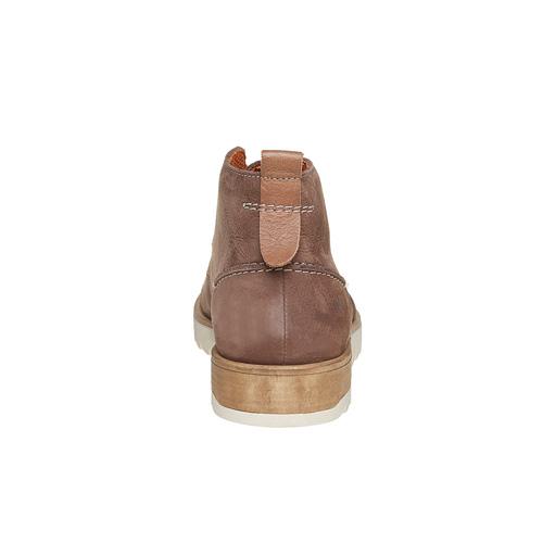 Scarpe in pelle da uomo Chukka weinbrenner, marrone, 896-4452 - 17
