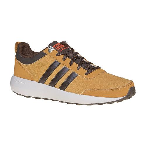 Sneakers da uomo in pelle adidas, marrone, 803-3893 - 13