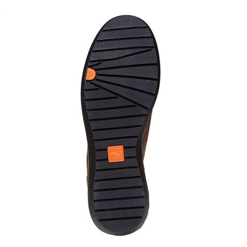 Sneakers da uomo in pelle flexible, marrone, 846-4205 - 26