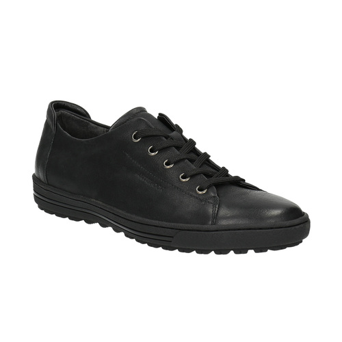 Sneakers da donna in pelle bata, nero, 524-6349 - 13