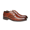 Scarpe basse di pelle con decorazione Brogue bata-the-shoemaker, marrone, 824-3182 - 26