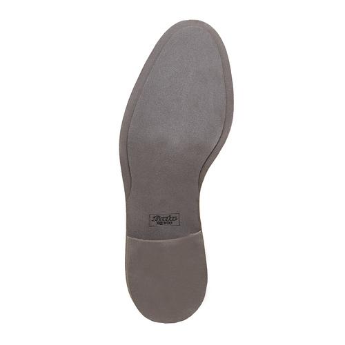 Scarpe in pelle sopra la caviglia con decorazione Brogue bata-the-shoemaker, marrone, 824-3183 - 26
