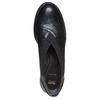 Scarpe basse in pelle da donna con elastico flexible, nero, 514-6244 - 19