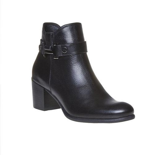 Scarpe da donna alla caviglia bata, nero, 694-6387 - 13