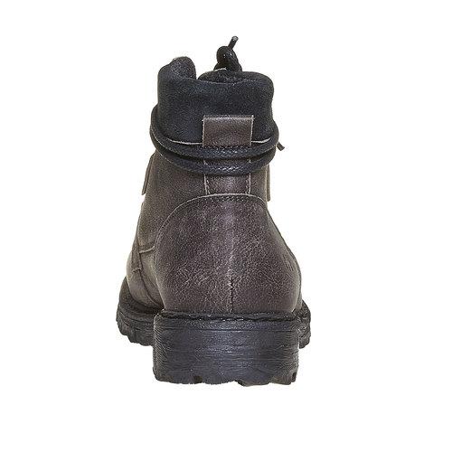 Scarpe invernali da uomo in pelle weinbrenner, grigio, 894-2256 - 17