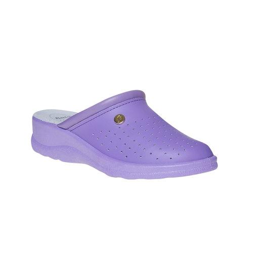 Pantofole da donna, viola, 574-9347 - 13