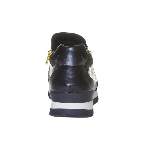Sneakers da donna con suola originale north-star, nero, 541-6263 - 17