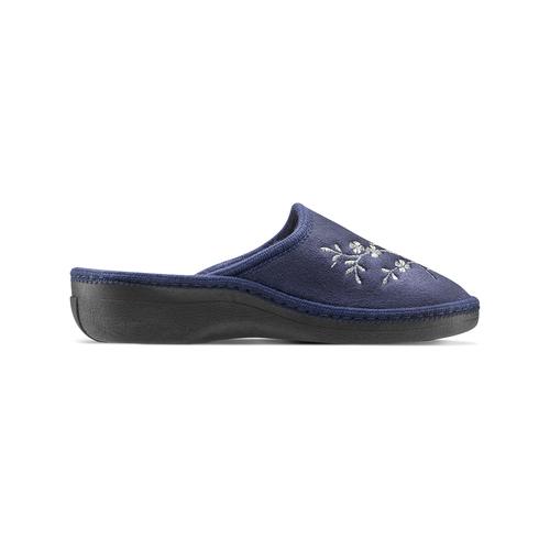 Ciabatte donna bata, blu, 579-9280 - 26