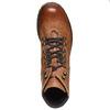 Scarpe di pelle alla caviglia weinbrenner, marrone, 594-3810 - 19