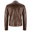 Giacca da uomo in vera pelle bata, marrone, 974-4142 - 26