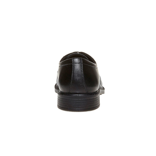 Scarpe basse di pelle in stile Derby bata-comfit, nero, 824-6619 - 17