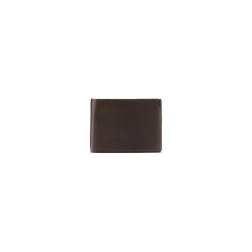 Portafoglio da uomo in pelle marrone bata, marrone, 944-4124 - 26